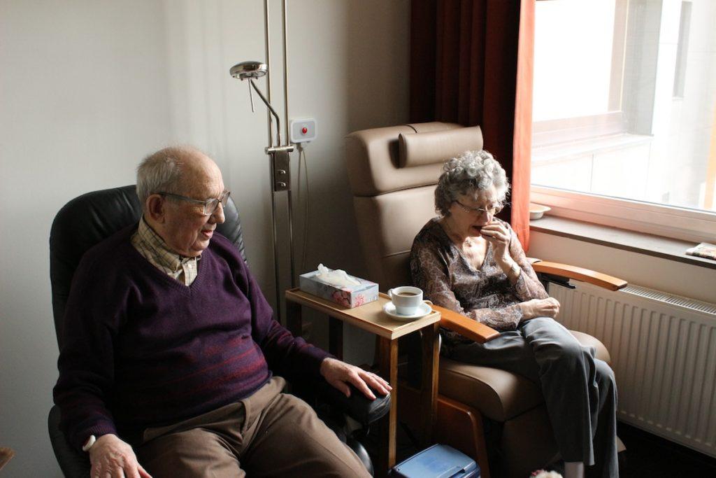 Pflegedienst und Seniorenbetreuung